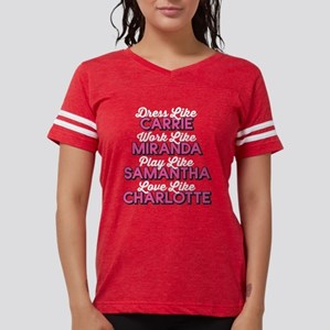 SATC Dress Like Dark Womens Football Shirt