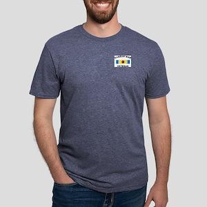 vet-korea-2 Mens Tri-blend T-Shirt