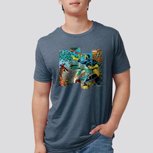 Cyclops Comic Panel Mens Tri-blend T-Shirt