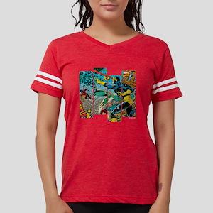 Cyclops Comic Panel Womens Football Shirt