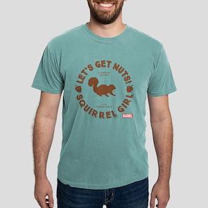 Squirrel Girl Let's Get  Mens Comfort Colors Shirt