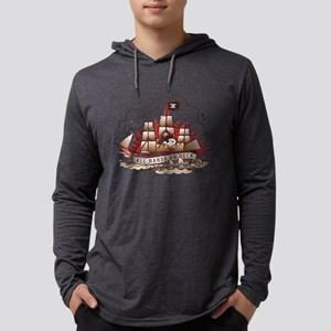 Peanuts All Hands on Deck Light Mens Hooded Shirt