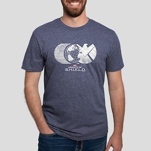 S.H.I.E.L.D. Mens Tri-blend T-Shirt