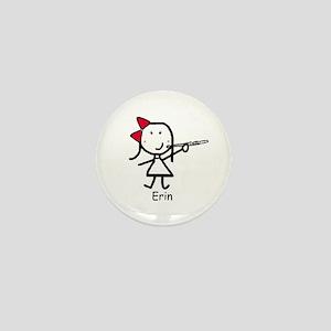 Flute - Erin Mini Button