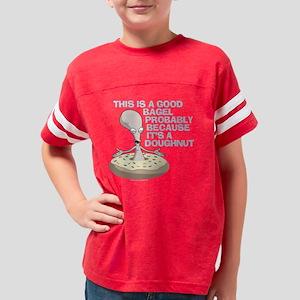 American Dad Bagel Doughnut D Youth Football Shirt