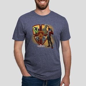 GOTG Team Emblem  Mens Tri-blend T-Shirt