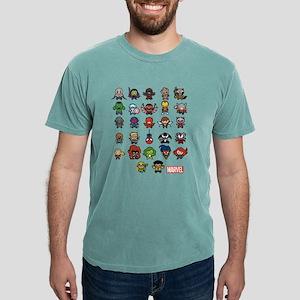 Marvel Kawaii Heroes Dar Mens Comfort Colors Shirt