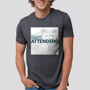 Seattle Grace Hospital Atte Mens Tri-blend T-Shirt