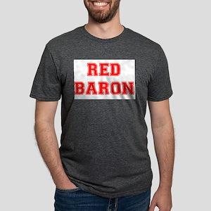 RED BARON! Mens Tri-blend T-Shirt