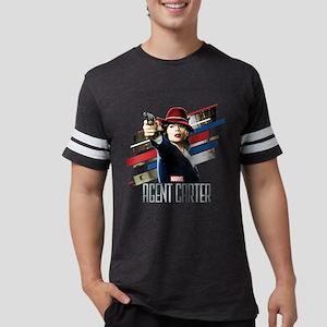 Agent Carter Stripes Mens Football Shirt