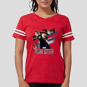 Agent Carter Stripes Womens Football Shirt