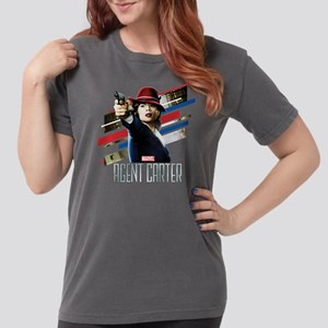 Agent Carter Stripes Womens Comfort Colors Shirt