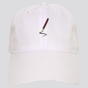 Fountain Pen Writing Baseball Cap