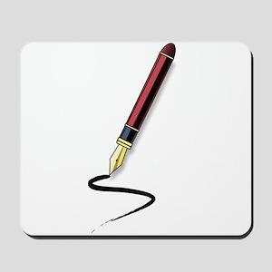 Fountain Pen Writing Mousepad