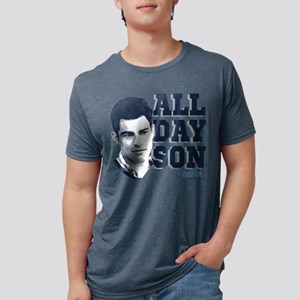 New Girl All Day Son Light Mens Tri-blend T-Shirt