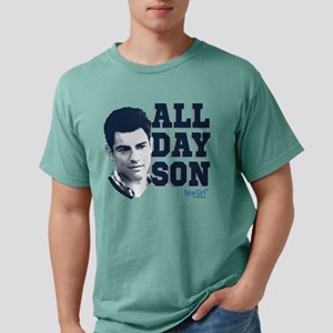 New Girl All Day Son Lig Mens Comfort Colors Shirt