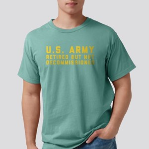 US Army Retired Not Deco Mens Comfort Colors Shirt