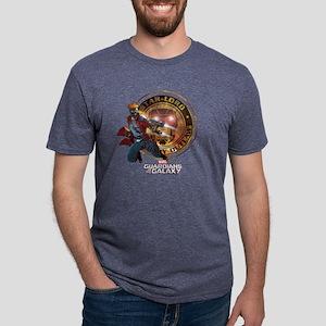 Guardians of the Galaxy Sta Mens Tri-blend T-Shirt