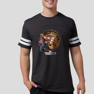 Guardians of the Galaxy Star-L Mens Football Shirt