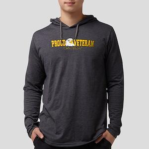 Proud Veteran - Army Mens Hooded Shirt