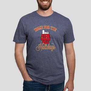 Home for the Holidays Dark Mens Tri-blend T-Shirt
