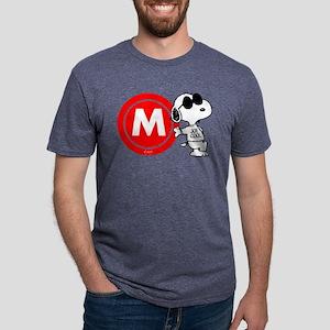Joe Cool Monogram Mens Tri-blend T-Shirt