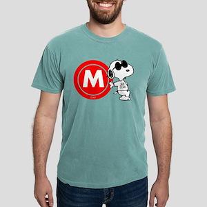 Joe Cool Monogram Mens Comfort Colors Shirt
