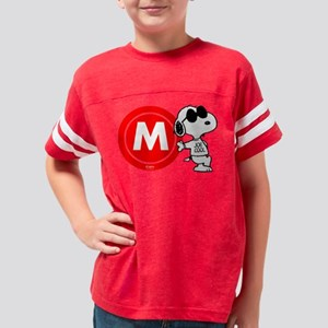 Joe Cool Monogram Youth Football Shirt