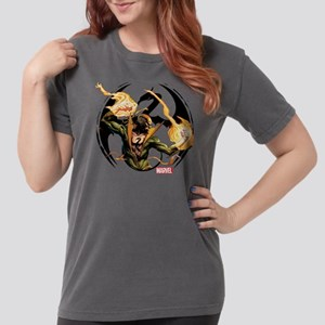 Iron Fist Glowing Fist Womens Comfort Colors Shirt
