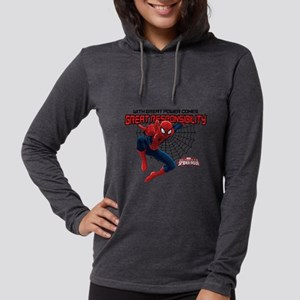 WithGreatResponsibility-LIGHT Womens Hooded Shirt