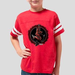 Deadpool sketch Youth Football Shirt