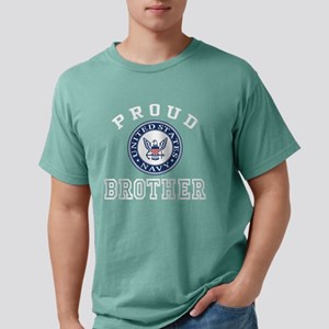 Proud US Navy Brother Mens Comfort Colors Shirt