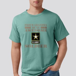 Proud U.S. Army Grandma Mens Comfort Colors Shirt