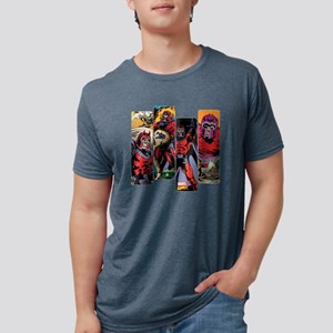 Magneto Comic Panel Mens Tri-blend T-Shirt