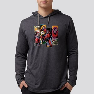 Magneto Comic Panel Mens Hooded Shirt