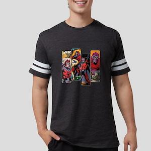 Magneto Comic Panel Mens Football Shirt