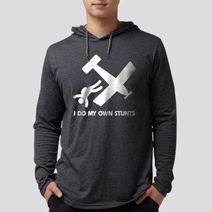 skydive all_stunts_black Mens Hooded Shirt