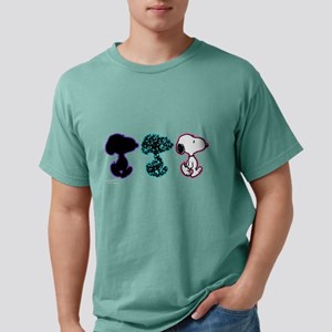 Triple Snoopy Mens Comfort Colors Shirt