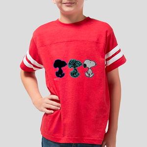Triple Snoopy Youth Football Shirt
