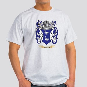 Mills-(Ulster) Coat of Arms - Family Crest T-Shirt