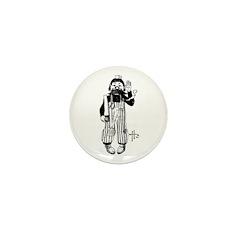 The Carpenter Mini Button (10 pack)