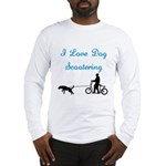 Dog Scootering Long Sleeve T-Shirt