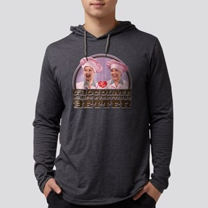 I Love Lucy: Chocolate Makes Eve Mens Hooded Shirt