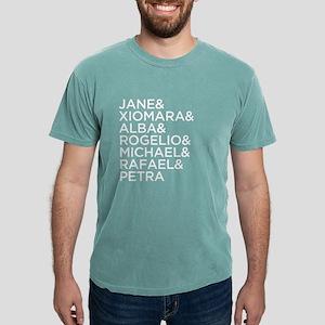 Jane the Virgin Names Da Mens Comfort Colors Shirt
