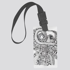 Octopus Life Large Luggage Tag