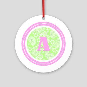 Paisley Ornament (Round)