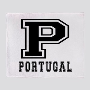 Portugal Designs Throw Blanket