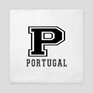 Portugal Designs Queen Duvet