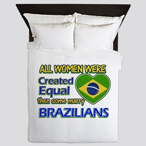 Brazilian husband designs Queen Duvet