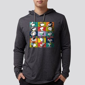 Snoopy-You Can Be Anything Mens Hooded Shirt
